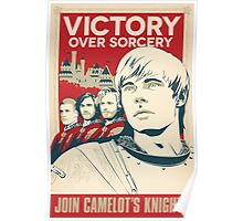 Join Camelot's Knights Poster