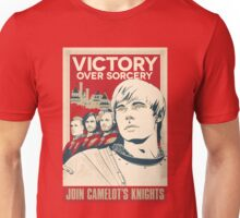 Join Camelot's Knights Unisex T-Shirt
