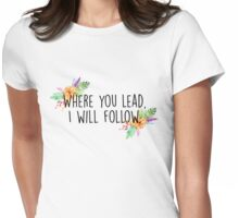 Gilmore Girls - Where you lead Womens Fitted T-Shirt