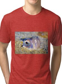 Buried Sandfish is watching you!  Tri-blend T-Shirt