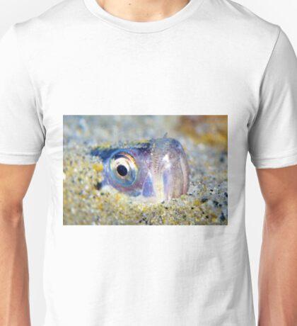 Buried Sandfish is watching you!  Unisex T-Shirt