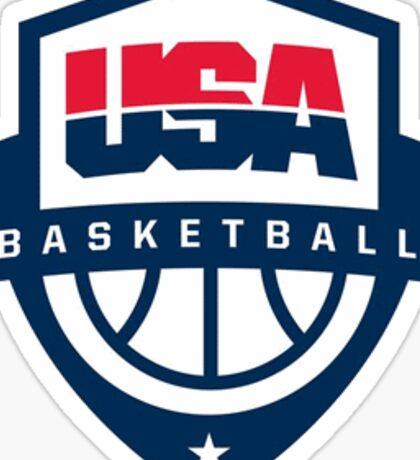 USA Bball Sticker