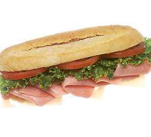 Deli Sandwich by BravuraMedia