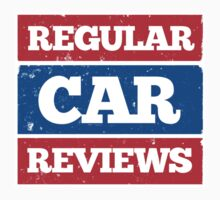 Regular Car Reviews Logo White by RegularCars