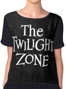 The Twilight Zone Chiffon Top