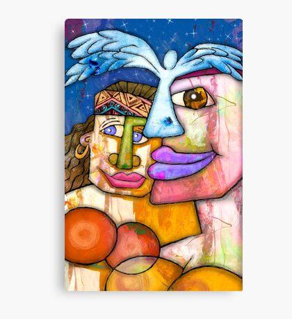 ANGELS ADORN US Canvas Print