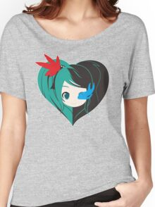Two Love in one Women's Relaxed Fit T-Shirt
