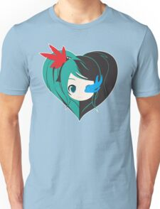 Two Love in one Unisex T-Shirt
