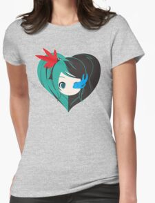 Two Love in one Womens Fitted T-Shirt