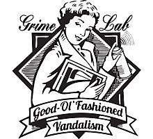 Grime Lab Vandalism Photographic Print