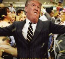 Donald Trump - Wolf Of Wall Street Sticker