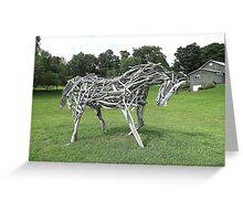 Stick Horse Greeting Card