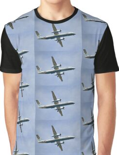 Flying In A Sea Of Blue ..............Devon UK Graphic T-Shirt