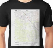 USGS TOPO Map California CA Chico 20120301 TM geo Unisex T-Shirt