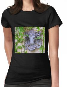 The Head Of The Goat Womens Fitted T-Shirt