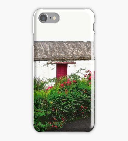 Abandoned Cottage, Inishowen Peninsular, Donegal, Ireland iPhone Case/Skin