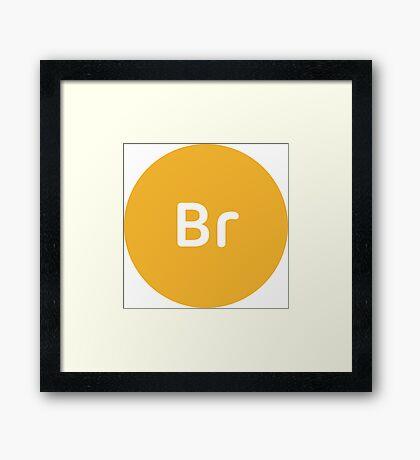 Adobe Bridge CC Circle Framed Print
