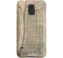Vintage Map of Savannah Georgia (1818) Samsung Galaxy Case/Skin