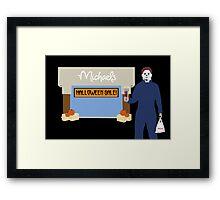Michaels Myers Framed Print