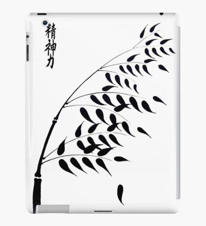 Japanese Bamboo Kanji Inspiration iPad Case/Skin
