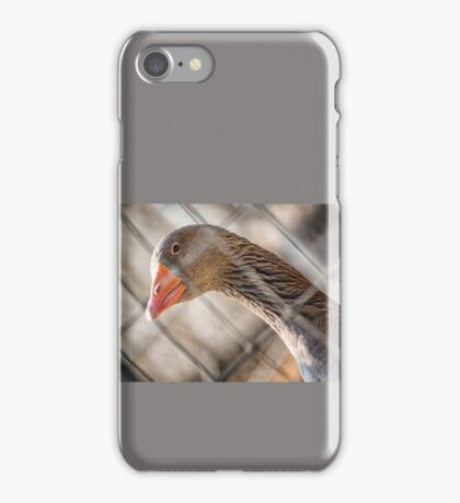 Plaid Goose iPhone Case/Skin