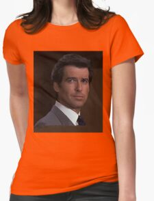 Pierce Brosnan - James Bond 007 Womens Fitted T-Shirt