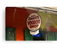 voodoo shop Metal Print