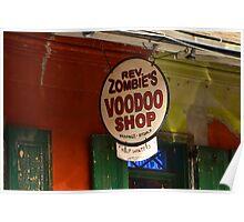 voodoo shop Poster