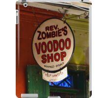 voodoo shop iPad Case/Skin