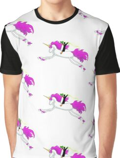 Unicorn Penguin Graphic T-Shirt