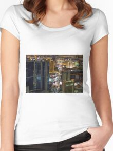 Las Vegas I Women's Fitted Scoop T-Shirt
