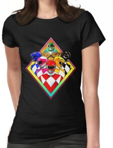 POWER RANGERS Womens Fitted T-Shirt