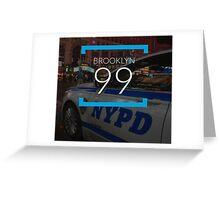 Brooklyn Nine Nine. Greeting Card