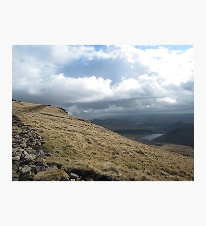 Hill walking view Photographic Print