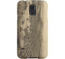 Vintage Pictorial Map of Seattle (1878) Samsung Galaxy Case/Skin
