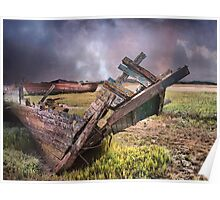 Abandoned Wreck. Poster