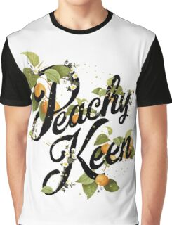 Peachy Keen : Mint Graphic T-Shirt