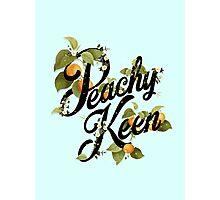 Peachy Keen : Mint Photographic Print