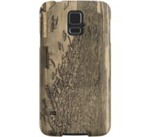 Vintage Pictorial Map of Seattle (1884) Samsung Galaxy Case/Skin