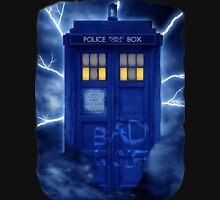 Blue Police Public Call Box  T-Shirt