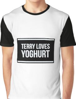 Terry Loves Yoghurt. Graphic T-Shirt