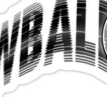 Screwball Sticker