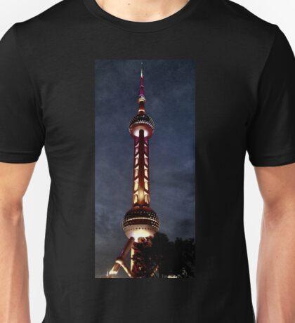 Oriental Pearl Dark Unisex T-Shirt
