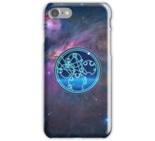 Wibbly Wobbly, Timey Wimey (in Gallifreyan) iPhone Case/Skin