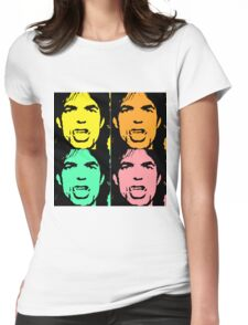 Mick Jagger II Womens Fitted T-Shirt