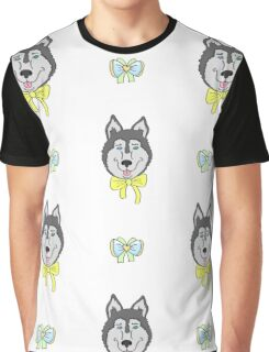 Siberian Husky the best dog in the world Graphic T-Shirt