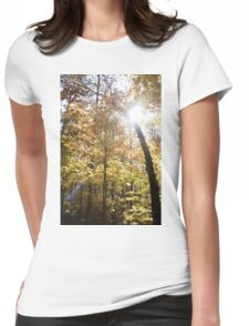 Into Autumn We go Womens Fitted T-Shirt