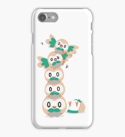 Leaning Birb Tower  iPhone Case/Skin