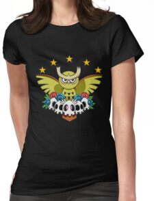 Noctowl Womens Fitted T-Shirt