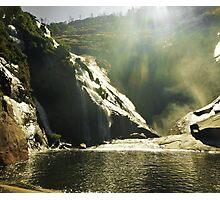 La Cascada de Ezaro Photographic Print